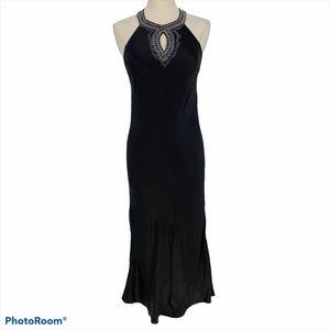 Victoria Secret Slip Dress 100% Silk Beaded